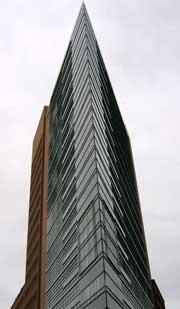 Moderne architectuur op de Potsdamer Platz