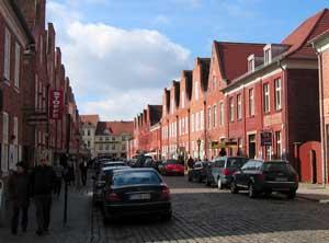 Hollandse wijk in potsdam