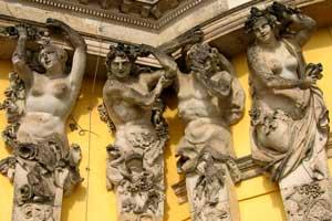 beelden op slot Sanssouci