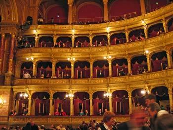 De opera van Boedapest