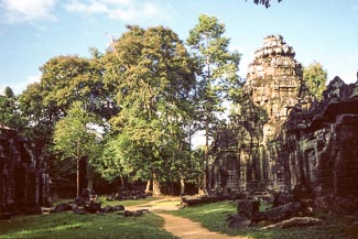 kindje in Siem Reap