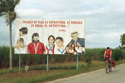 propaganda along the road