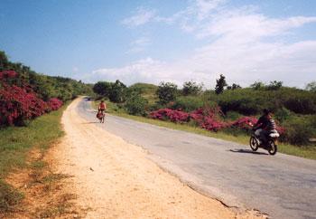 de weg naar Gibara