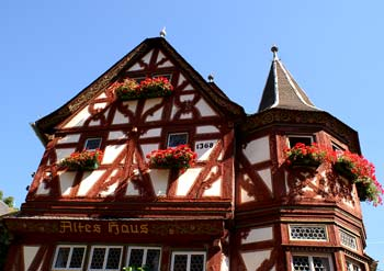 Altes Haus (1368) in Bacharach