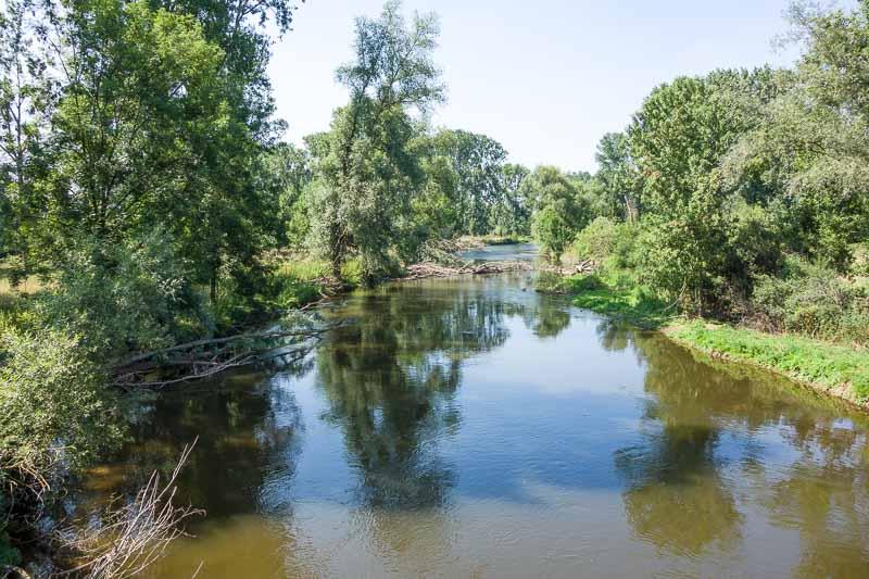 duitsland fietsroutes rivier
