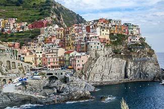 Das Dorf Riomaggiore, Cinque Terre