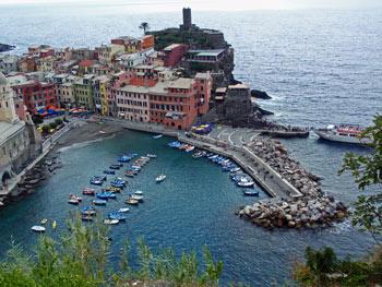 Das Dorf Vernazza