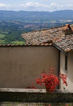 uitzicht vanuit Gropina