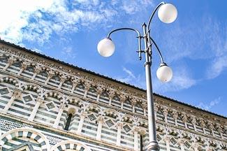 lantaarnpaal in Pistoia