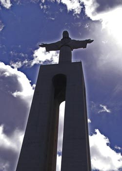 Statue von Cristo-Rei