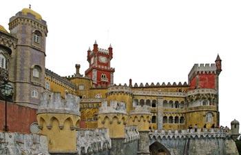 kasteel in Sintra