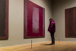 Rothko - Red on Maroon