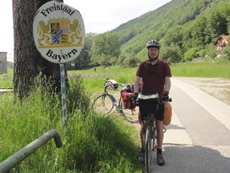 Jochenstein, Grenze