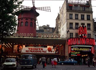 Cabaret Moulin Rouge in Parijs