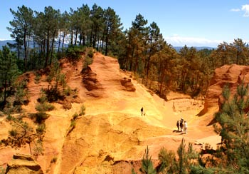 Ochre quarry near Roussillon