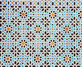 tiles in the Alcazar