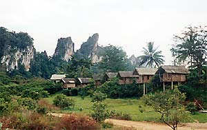 jungle huts, khao sok