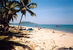Beach near Bankrut
