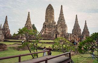 temples near Ayuthaya