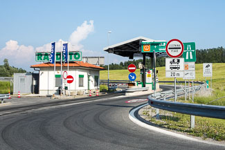 Toll station Slovenia