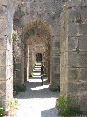 de acropolis van Bergama