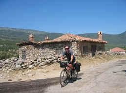 hutje in de heuvels rond Izmir