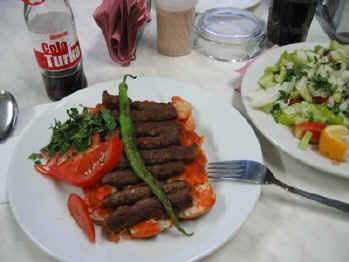 kebab in ödemis