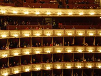 The Staatsoper in Vienna